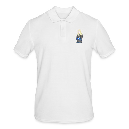 Sad-chan v2 - Men's Polo Shirt