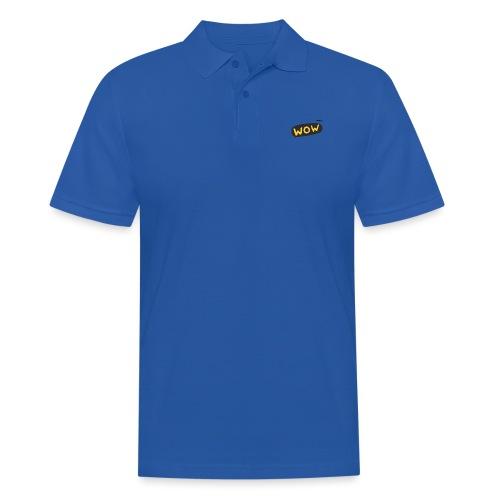 WoW Shirt - Men's Polo Shirt
