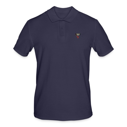 Flip Side Graphite Logo - Men's Polo Shirt