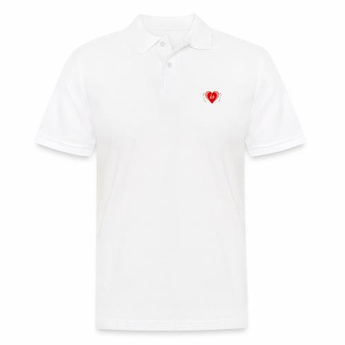 Life is Love - Männer Poloshirt