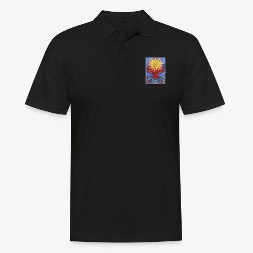 Niebiańskie Drzewo - Koszulka polo męska