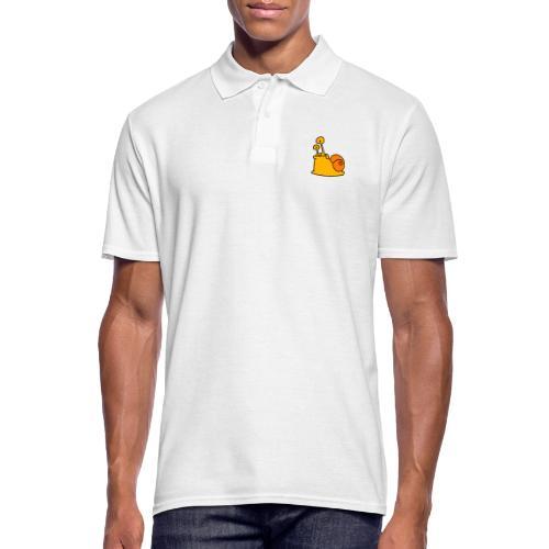 Schnecke Nr 21 von dodocomics - Männer Poloshirt