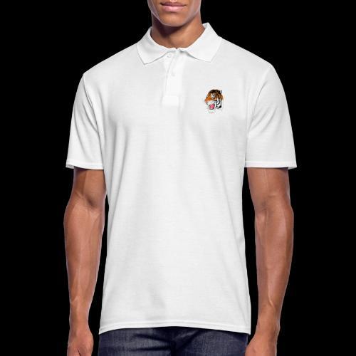Sumatra Tiger - Männer Poloshirt