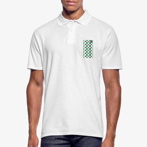  K·CLOTHES  HEXAGON ESSENCE GREENS & WHITE - Polo hombre
