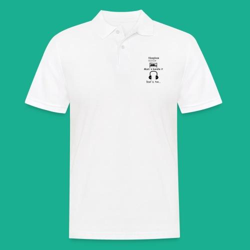 Sleepless - Männer Poloshirt