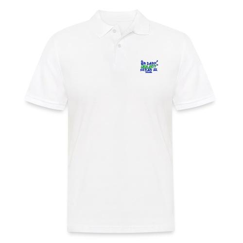 AbleTV Grafitti Logo Marken Shirt (Er Darf Das) - Männer Poloshirt