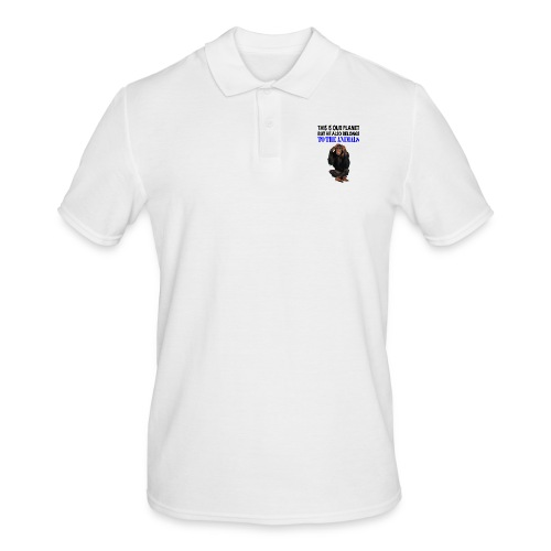 This is our Planet Affe - Männer Poloshirt