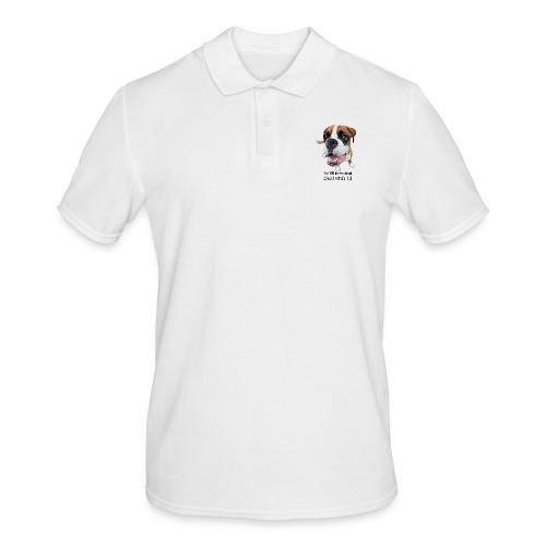My BFF is my dog deal with it - Men's Polo Shirt