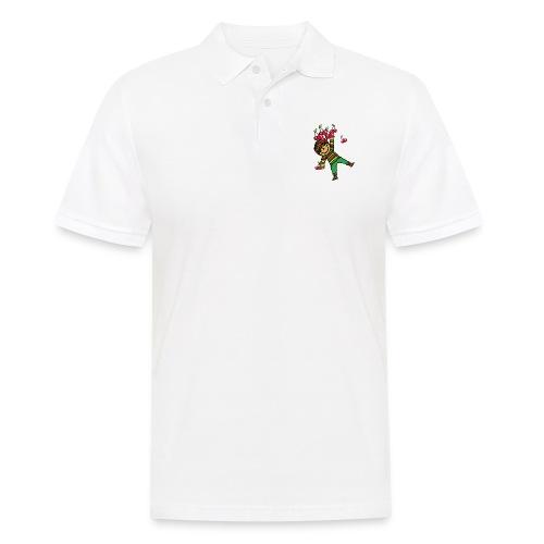 08 kinder kapuzenpullover hinten - Männer Poloshirt