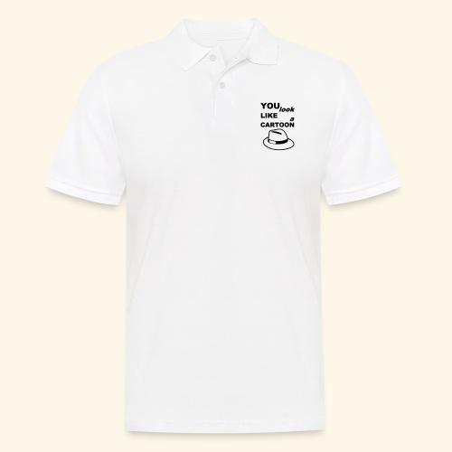Cartoon Spruch Zitat lustig Geschenk - Men's Polo Shirt