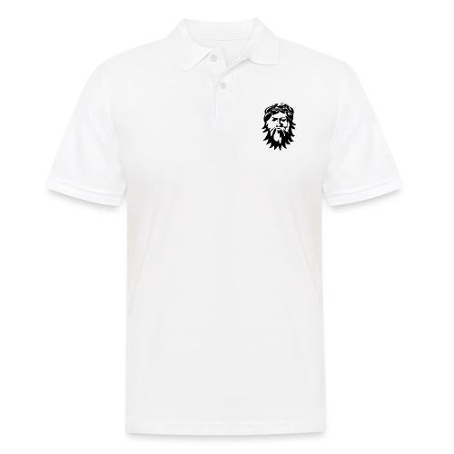 Alkuperäinen logo - musta - Miesten pikeepaita