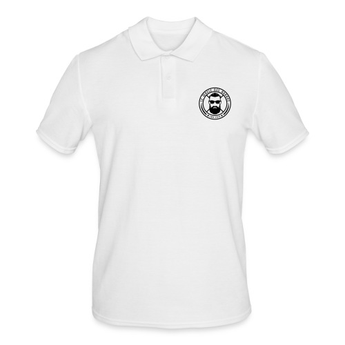 Logo officiel noir - Polo Homme