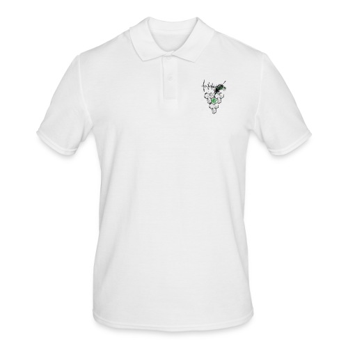 Raijin Hero-Heartbeat - Männer Poloshirt