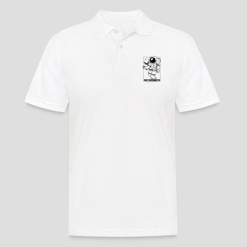 Astronauts loves Beerpong - Männer Poloshirt