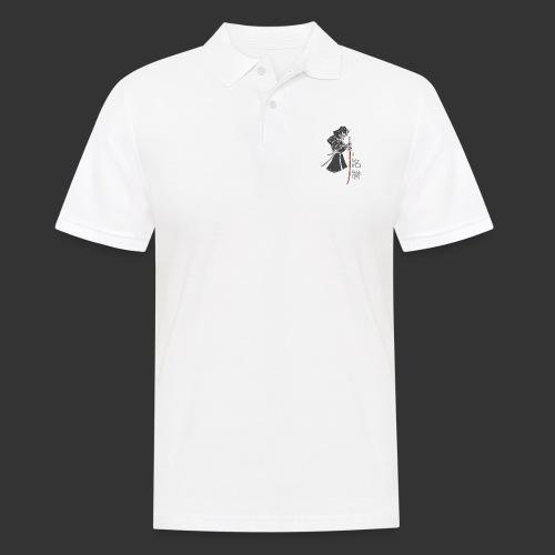 Samurai Digital Print - Men's Polo Shirt