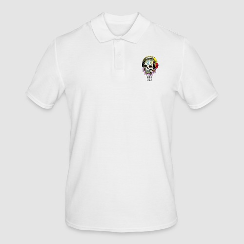 smiling_skull - Men's Polo Shirt
