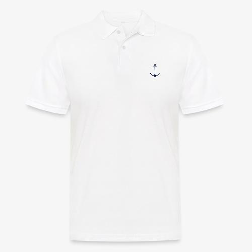 Navy Anchor - Men's Polo Shirt