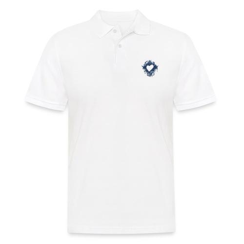 serce - Koszulka polo męska