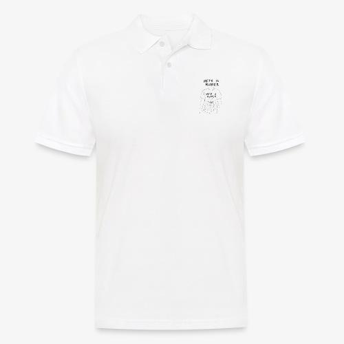 meta is murder - Men's Polo Shirt