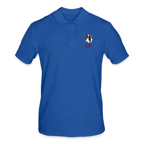 'DO NOT BE AFRAID OR BIG GIRLS' ' - Men's Polo Shirt