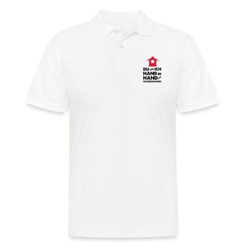 Hand in Hand zum Schorlestand / Gruppenshirt - Männer Poloshirt