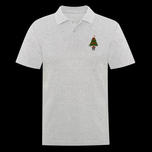 Messy Christmas - Mannen poloshirt