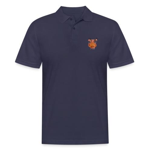 Srauss, again Monday, English writing - Men's Polo Shirt