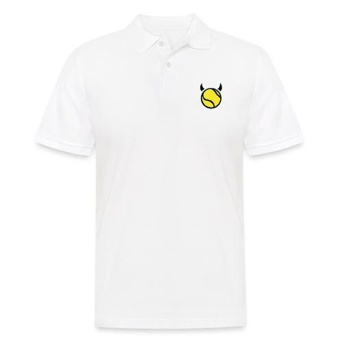 Teufel Schwarz - Männer Poloshirt