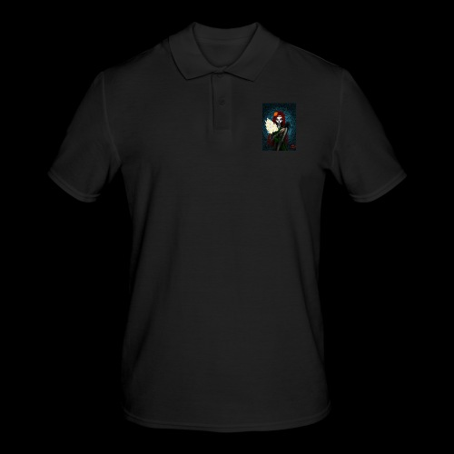 Death and lillies - Men's Polo Shirt