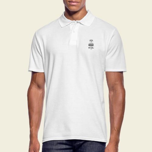 Schwarzes Schaf - white edition - Männer Poloshirt