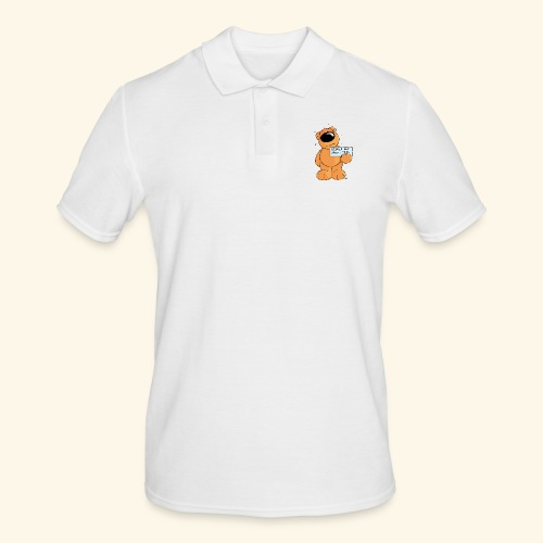 chris bears Keiner hat mich lieb - Männer Poloshirt