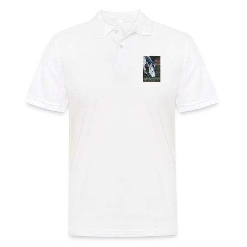 Pferde Hülle - Männer Poloshirt