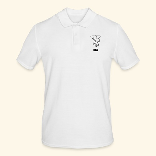 kåta-kyler elephant - Männer Poloshirt