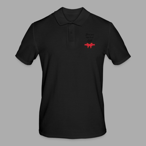 you are my best gift - Men's Polo Shirt