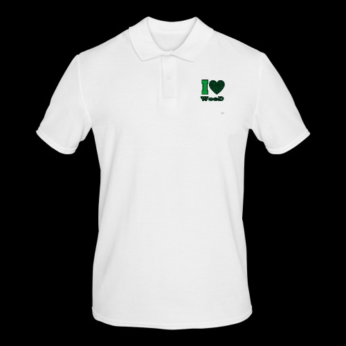 I Love weed - Polo Homme