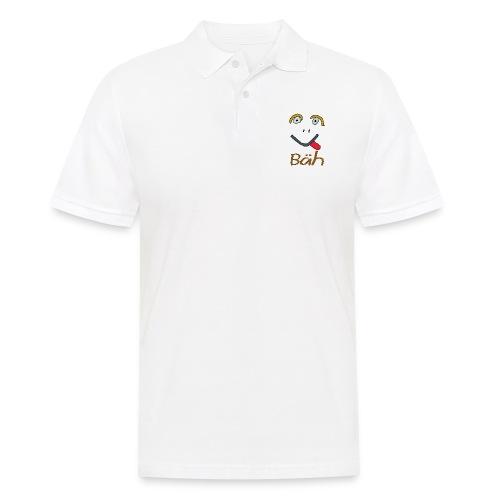 Gesicht Baeh - Männer Poloshirt