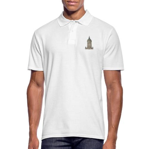 Wasserturm Mannheim c - Männer Poloshirt