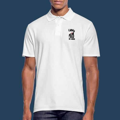 It smells like NOOB in here! - Männer Poloshirt
