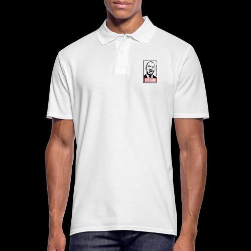 DREAM - Martin Luther King - Männer Poloshirt