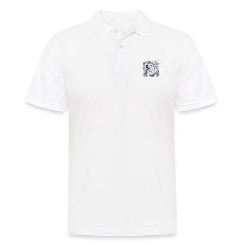 Jaulender Husky - Männer Poloshirt