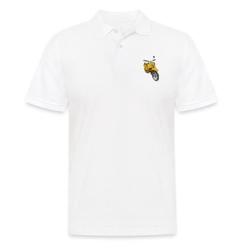 Schwalbenfahrer Shirt, gelbe Schwalbe - Männer Poloshirt
