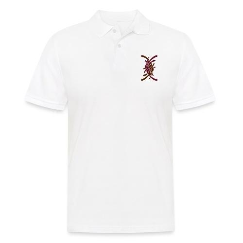 Stort logo på ryg - Herre poloshirt
