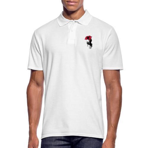 Albanischer Adler - Männer Poloshirt