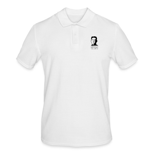 KING OF THE NORTH logo black - Men's Polo Shirt