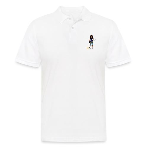 Sabre fencer - Men's Polo Shirt