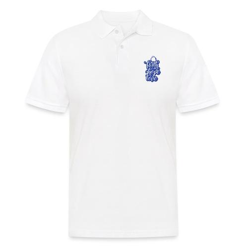 typo kinder 2016outline c - Männer Poloshirt