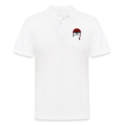 red_helmet-png - Polo da uomo