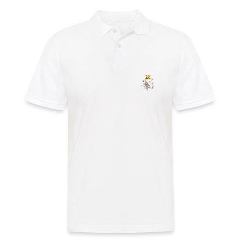 Maus mit Drachen im Herbst - Männer Poloshirt
