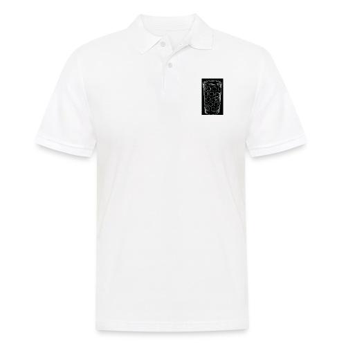 Leergut Dubbeglas -schwarz - Männer Poloshirt