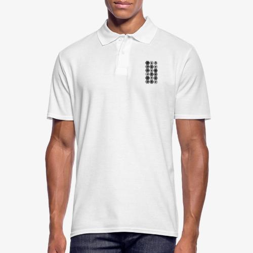 |K·CLOTHES| HEXAGON ESSENCE GREYS & WHITE - Polo hombre
